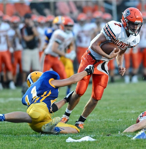 Sam Whitelock Breaks A Tackle: Bad Breaks, And No Breaks At All…Coldwater Stuns Marion