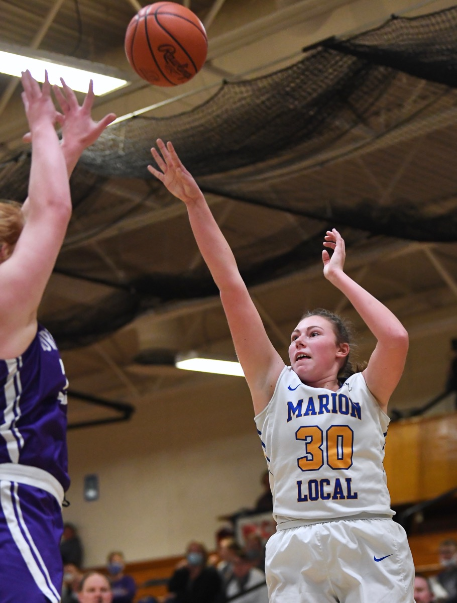 Marion Stays In The Hunt, 'Squeezes' Fort Recovery