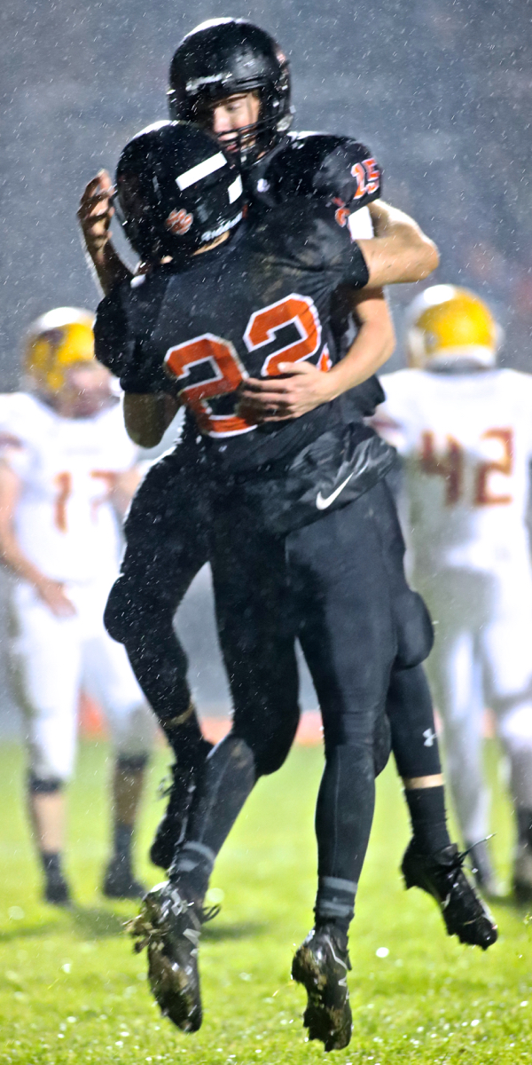 Minster Dominates First Half, Clinches Home Playoff Game With Win Over Rival New Bremen