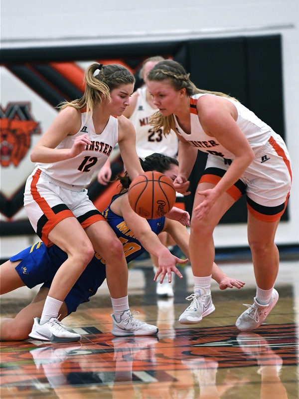 Better Than They Practiced…Minster Crushes Marion Local