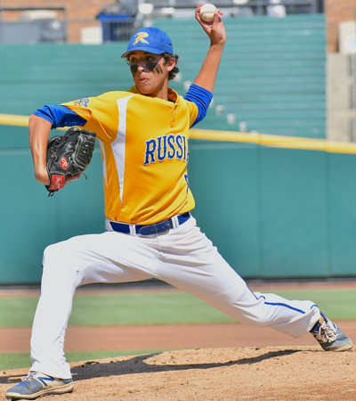 Daniel Kearns pitched exactly as his coach expected - five innings of 2-hit baseball on the state championship stage.