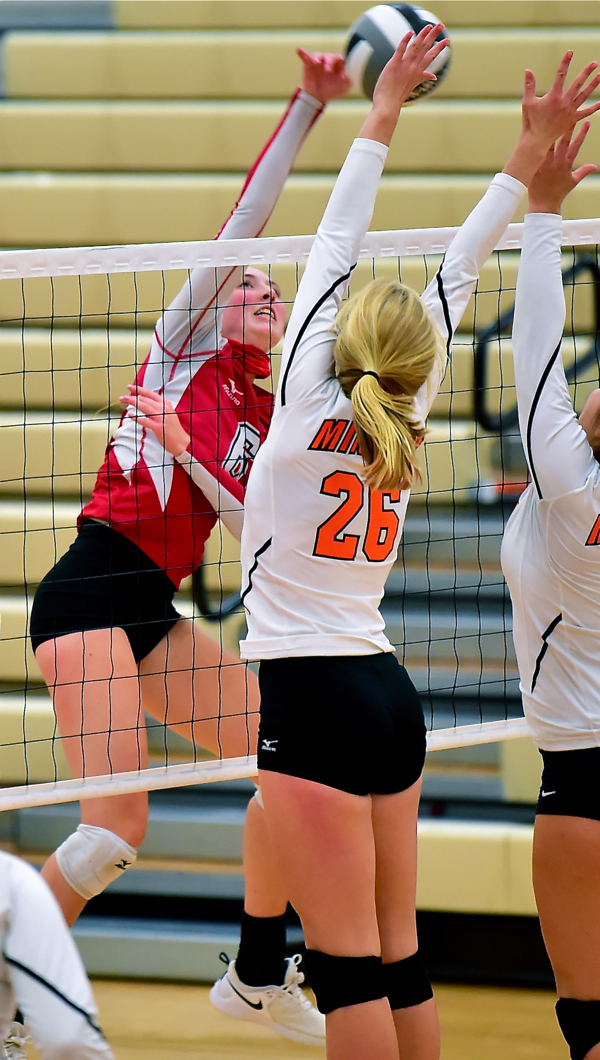 St. Henry Rallies To Take Down Minster In Volleyball…