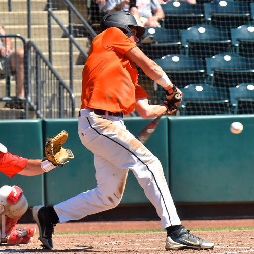 """John Niemeyer's first inning double added """"energy"""" to the 'Cats' fast start."""