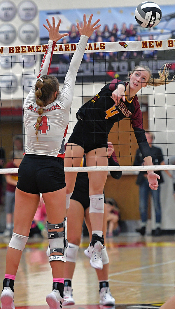 New Bremen Stops New Knoxville, Stays Undefeated