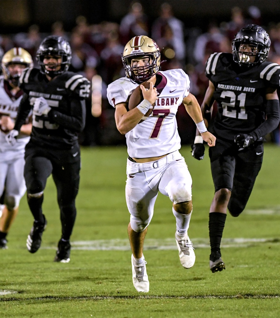 New Albany Stuns Pick North On Late Touchdown