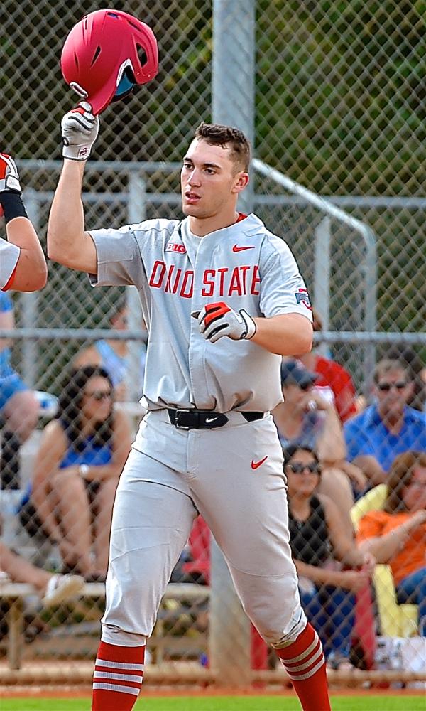 Ohio State Baseball: Clegg Working Hard Despite Grounding