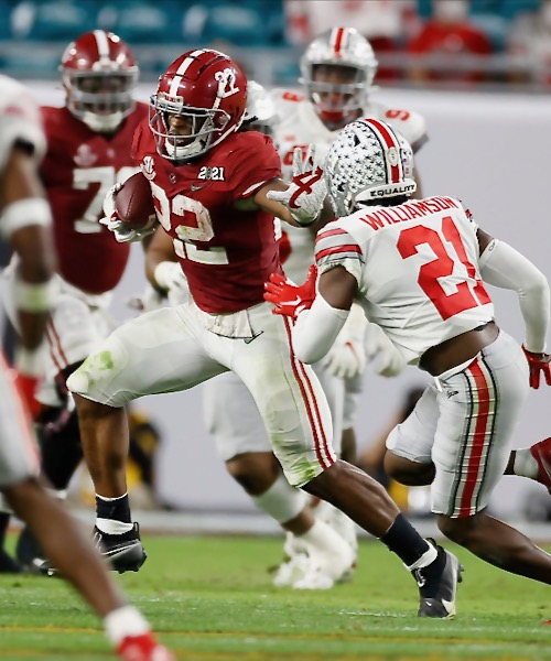 Ohio State No Match for Alabama From Get-Go in Title Game