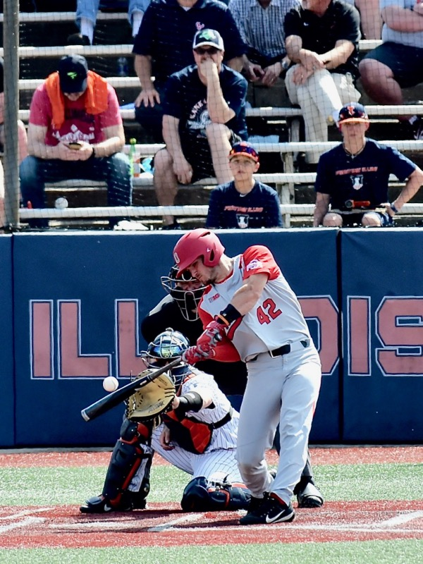 """Tale Of Two Games:  """"Loss Of Focus"""", And Illinois Evens The Series"""