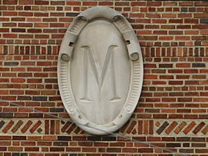 My good friend Heath Murray pitched and had a great career at Michigan.  They preserved his memory, apparently, by putting his 'initial' on some of the more famous buildings.