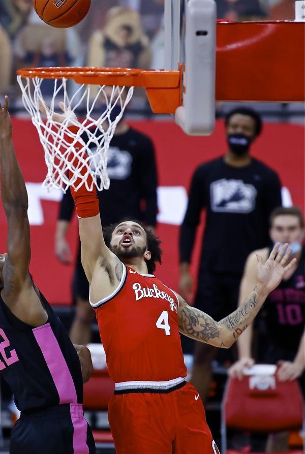 Washington, Liddell Lift Ohio State Into B1G Title Game