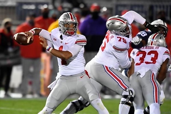 Bombs Away For Ohio State In Win Over Penn State