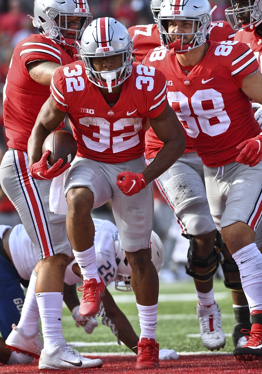 Henderson Races To Rushing Record In Saving Ohio State