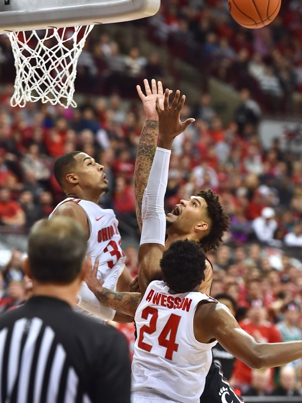 Znidar:  Buckeyes Win Rematch, Slugfest Over UC