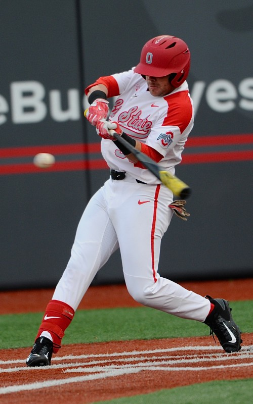Bo Coolen drove in the Buckeyes' first run with a single in the fourth.