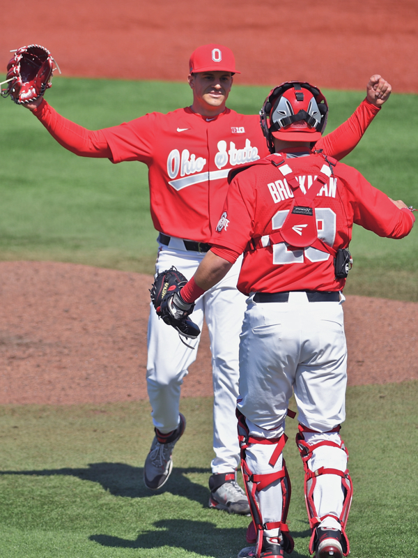 Lonsway Strikes Out 17 To Lead Ohio State Sweep