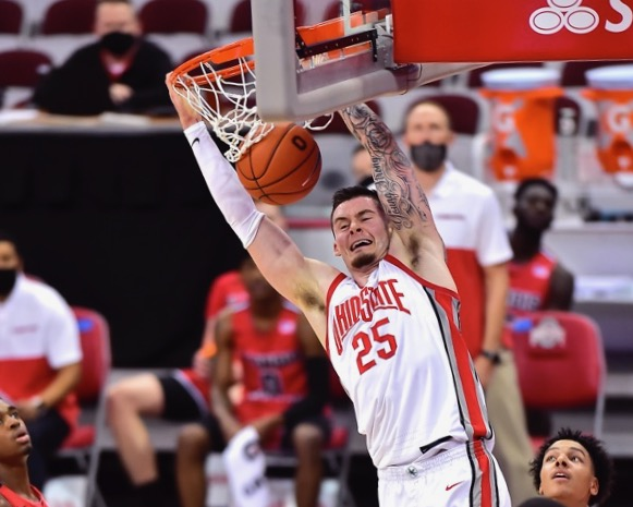 Physical E.J. Liddel Leads Buckeyes To Dominant Win…