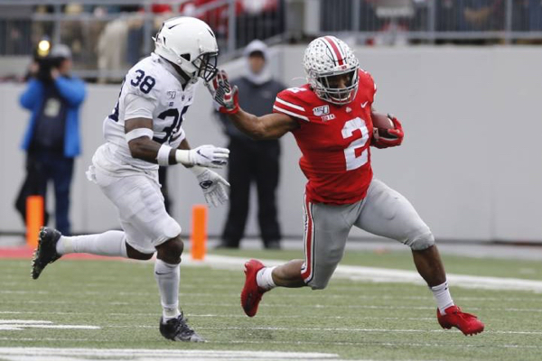Buckeyes Clinch Big Ten East Division Again With Hard-Fought Victory