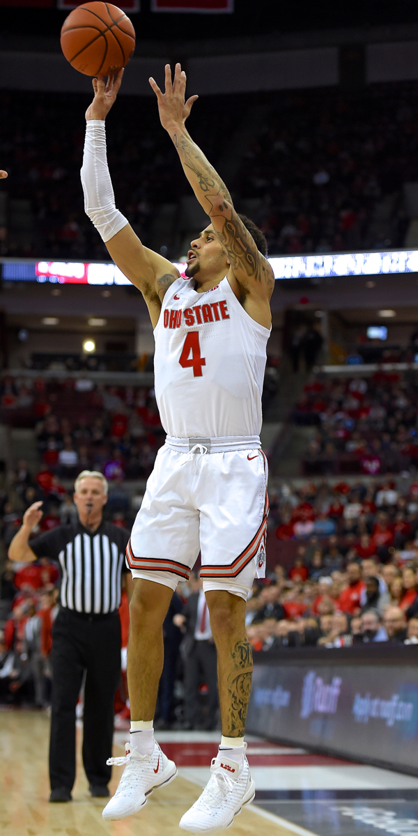 Znidar:  Buckeyes' Hot Shooting Throttles 'Nova…