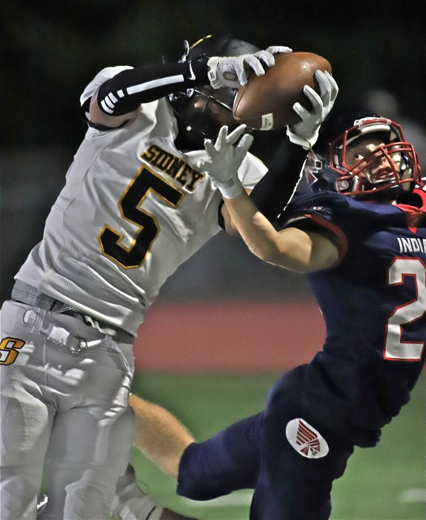 Piqua Turns Up Heat, Pounds Sidney, Takes 'Helmet'