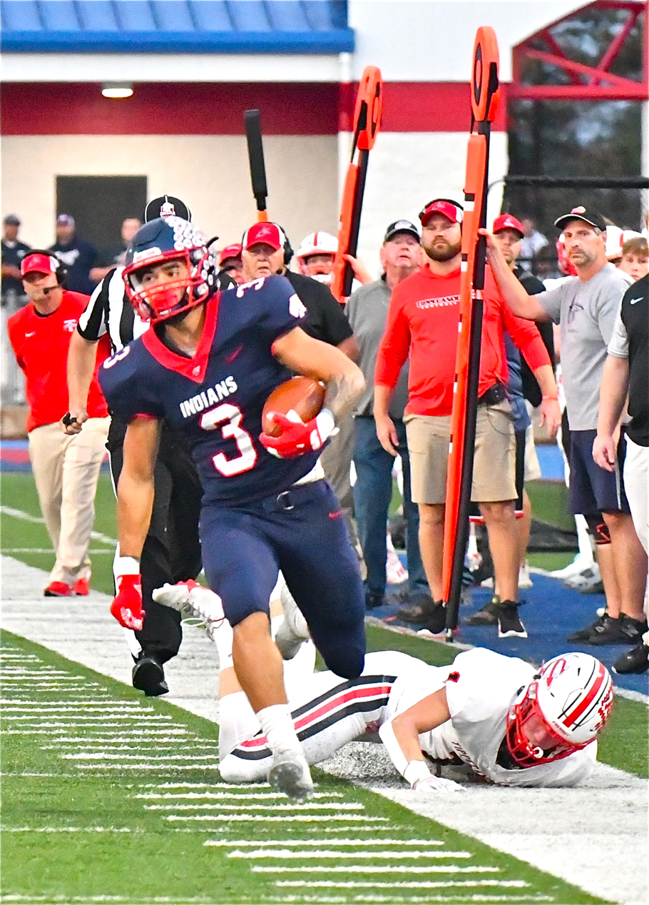 What A Rush: Medley's 310 Yards Carries Piqua Past Tipp