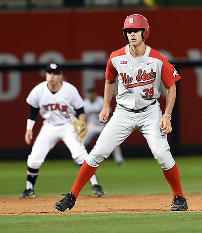 Pohl made his first collegiate appearance this week against Utah.  He walked and lined out in two at bats.