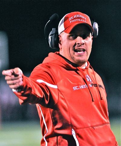 Brad Luthman begins his fifth season as coach in St. Henry, coming off an 8-4 playoff season.