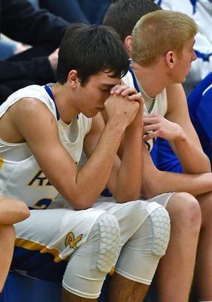 Fouling out late in the fourth quarter, Jack Dapore hoped for the best from the bench.