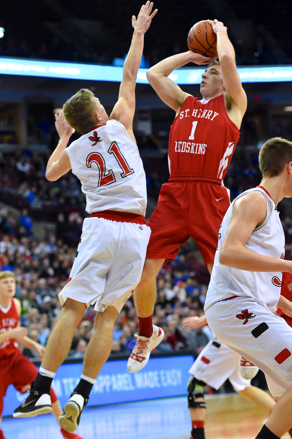 'Skins' Luck Runs Dry…St. Henry Falls To Hiland