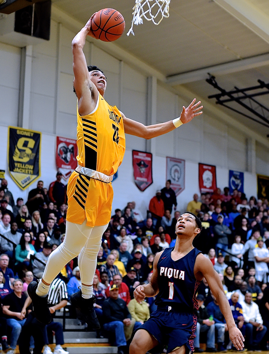 'Dunkathon':  Sidney Handles Piqua From Above The Rim…