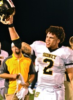 "Sidney Beats ""Banner"", And Piqua, To Take The Battered Helmet…"