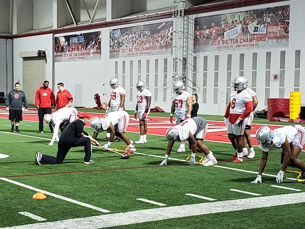 Znidar:  Ohio State Opens Spring Practice Looking In Tune