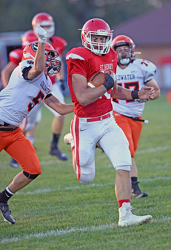 'Speechless'…Turnovers Fuel St. Henry Win Over Coldwater