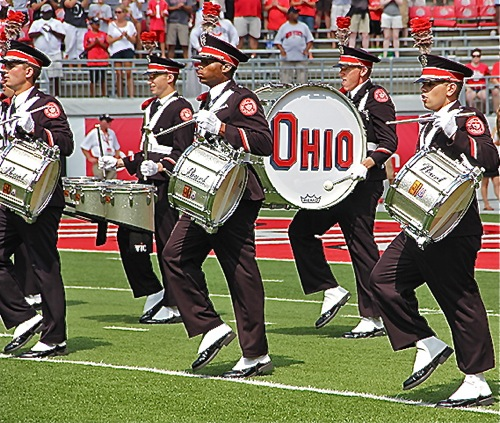 """""""The traditional snare drum sound you speak of is gone as a result of 'corps' band influence. Today's snare drums are torqued so high they sound like field drums anymore."""""""