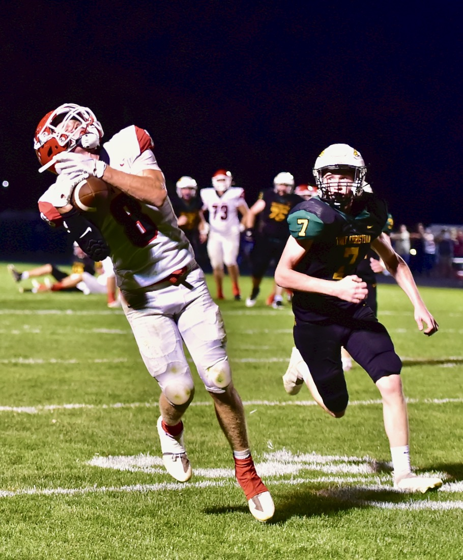 Passing Grade: Milton Throws Troy Christian For Loss