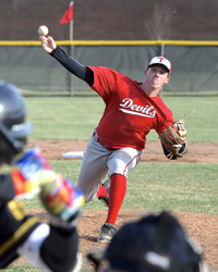 No Joke: Tipp's Egbert Tosses 16 K's Against Sidney