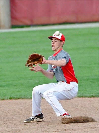A pair of fifth inning errors on ground balls proved costly to Kotwica and the Trojans.
