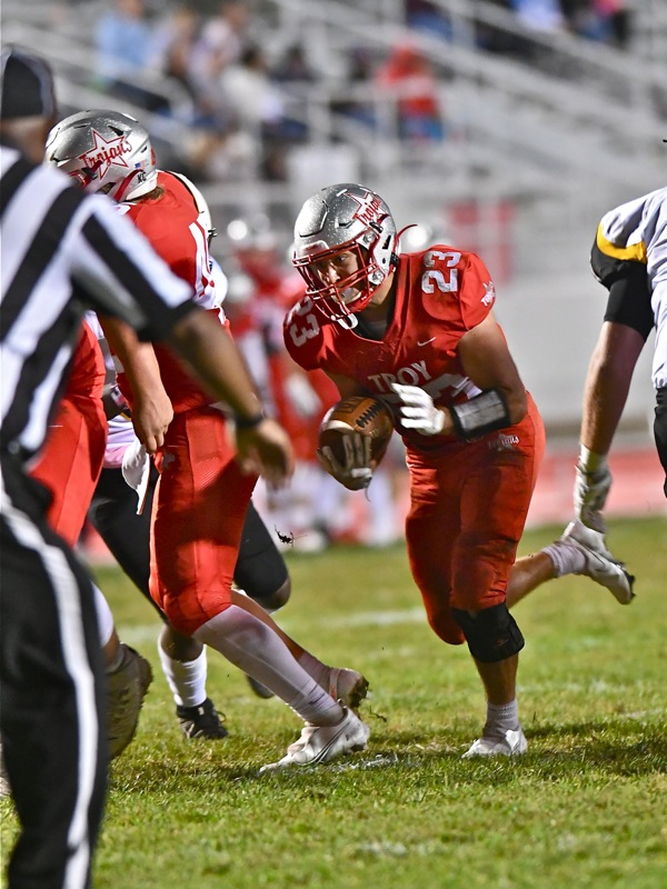Troy O-Line, Ground Game, Crushes Franklin Heights