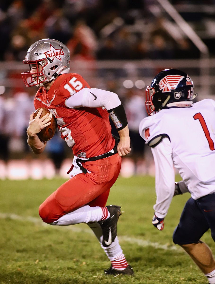 Siler, O' Line Lead Troy To Big Win Over Piqua