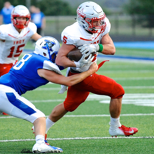 Thunderstruck … Troy's Defense Delivers The Boom To Stop Xenia
