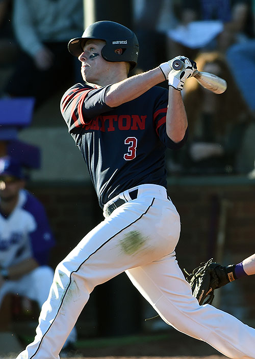 Connor Echols' eighth inning home run was the loudest of the Flyers' eight hits on the day.