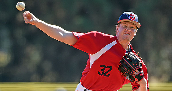 Freshman R.J. Wagner pitched 3 2/3rd innings of middle relief to record his first win.