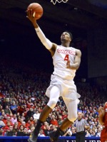 UD VS Austin Peay – Charles Cooke Turns Up The Heat At UD's First Home Game