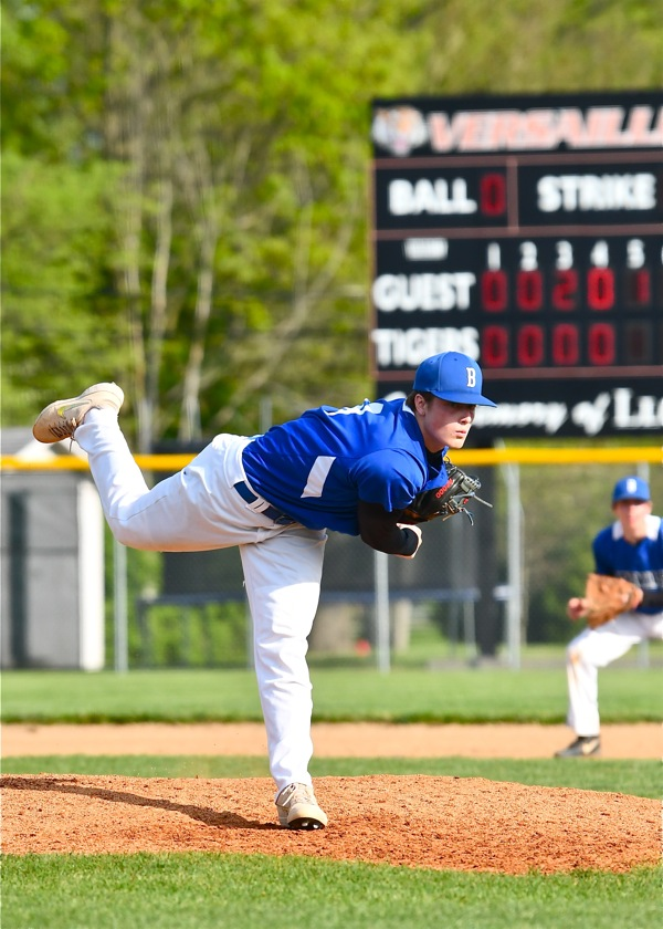 Give Me The Ball: Brookville Ace Blanks Versailles