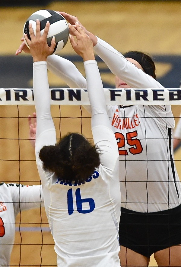 Div. III:  Anna Falls In Four To Marion Pleasant, But Versailles Sweeps Miami East To Advance