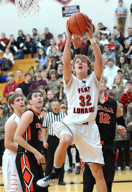 After a slow start Dillon Braun matched Ahrens shot for shot and finished with 20 points.
